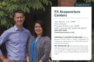 Fit Acupuncture Seattle Met Top Acupuncturist 2017